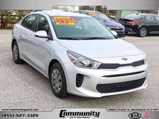 New 2020 KIA Rio in Bloomington, IN