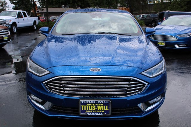 New 2017 Ford Fusion Energi SE FWD