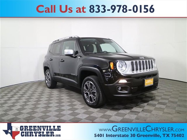 Used 2017 Jeep Renegade in Greenville, TX