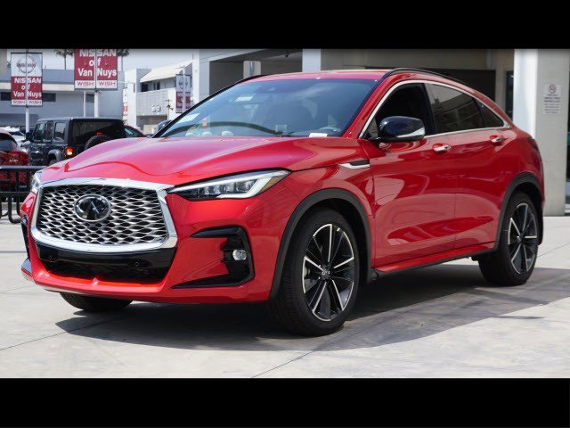 2022 INFINITI QX55 SENSORY SENSORY AWD Intercooled Turbo Premium Unleaded I-4 2.0 L/120 [7]