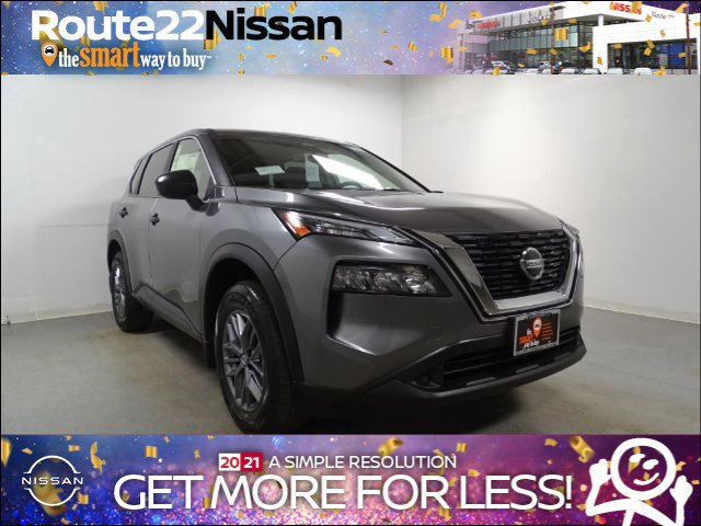 2021 Nissan Rogue S AWD S Regular Unleaded I-4 2.5 L/152 [8]
