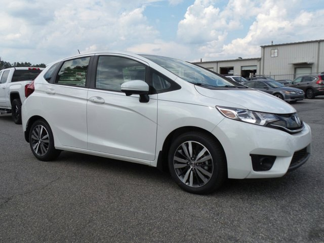 2016 Honda Fit GK5H7GJW EX Variable White Orchid Pearl Black Front Wheel Drive Power Steering