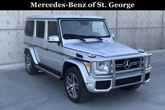 Used 2014 Mercedes-Benz 4MATIC 4dr G 63 AMG
