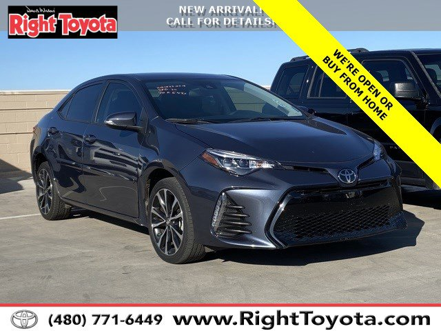 2019 Toyota Corolla SE SE CVT Regular Unleaded I-4 1.8 L/110 [4]