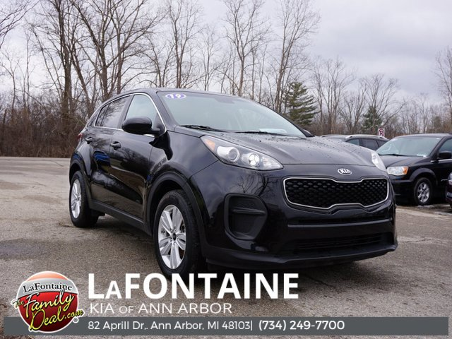 2019 Kia Sportage LX BLACK CHERRY CARPET FLOOR MATS BLACK  CLOTH SEAT TRIM  -inc YES Essentials