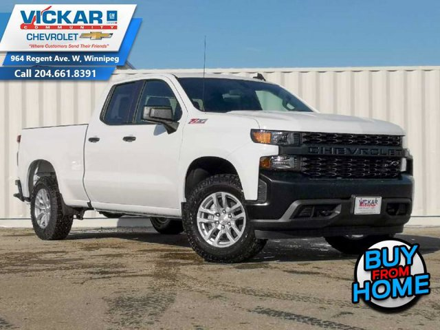 2021 Chevrolet Silverado 1500 Work Truck 4WD Double Cab 147″ Work Truck Gas V8 5.3L/325 [18]