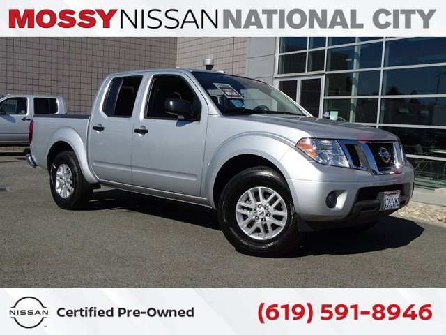 2018 Nissan Frontier SV V6 Crew Cab 4x2 SV V6 Auto Regular Unleaded V-6 4.0 L/241 [0]