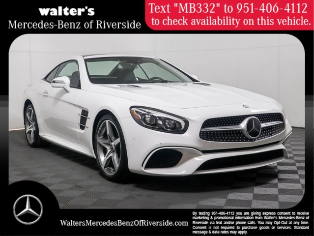 2017 Mercedes-Benz SL-Class SL 450 Roadster SL 450 Roadster Twin Turbo Gasoline V-6 3.0 L/183 [0]
