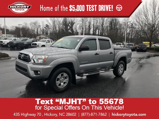 Used 2015 Toyota Tacoma in Hickory, NC
