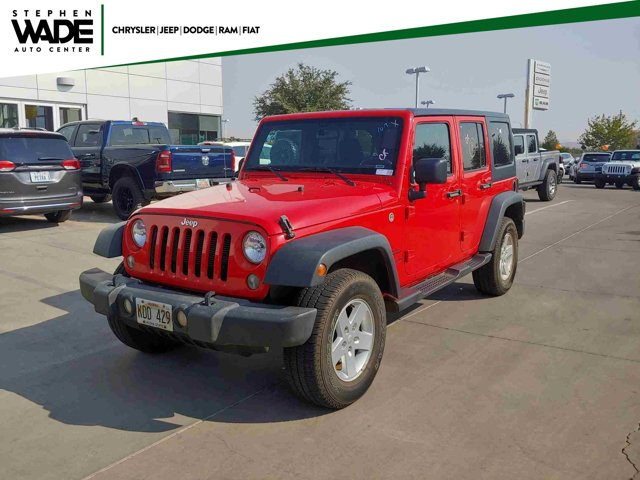 Used 2018 Jeep Wrangler JK Unlimited Sport S