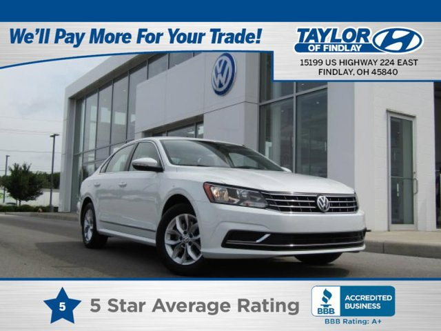 2017 Volkswagen Passat 18T S Turbocharged Front Wheel Drive Power Steering ABS 4-Wheel Disc Br
