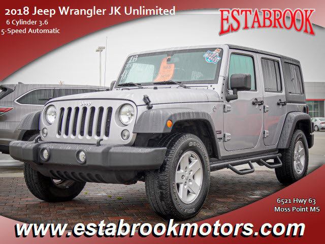 Used 2018 Jeep Wrangler JK Unlimited in , MS