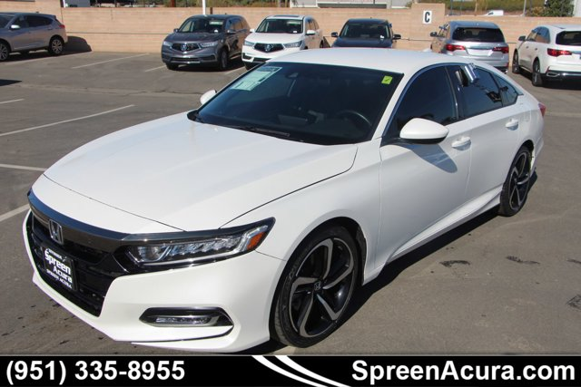 2018 Honda Accord Sedan Sport 1.5T Sport 1.5T CVT Intercooled Turbo Regular Unleaded I-4 1.5 L/91 [17]