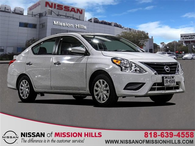 2019 Nissan Versa Sedan SV SV CVT Regular Unleaded I-4 1.6 L/98 [0]