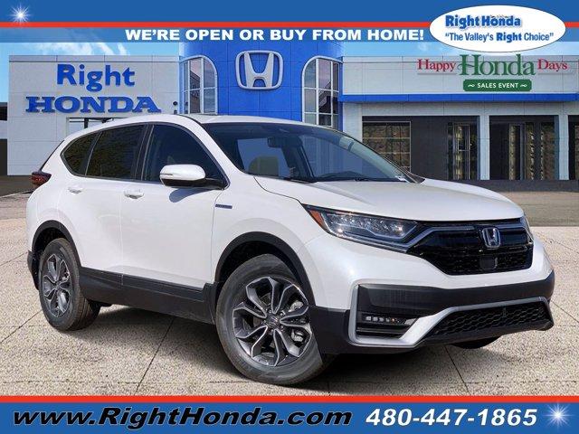 2020 Honda CR-V Hybrid EX-L EX-L AWD Gas/Electric I-4 2.0 L/122 [8]