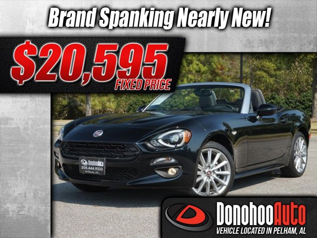 2018 Fiat 124 Spider Nearly New! Lusso
