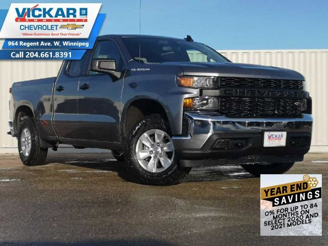2021 Chevrolet Silverado 1500 Work Truck 4WD Double Cab 147″ Work Truck Gas V6 4.3L/262 [5]