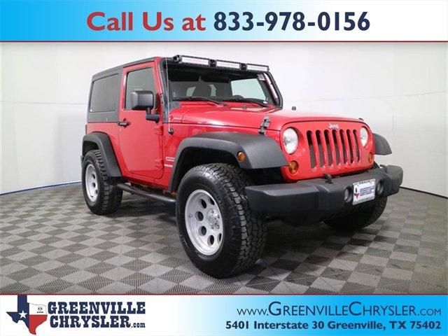 Used 2011 Jeep Wrangler in Greenville, TX