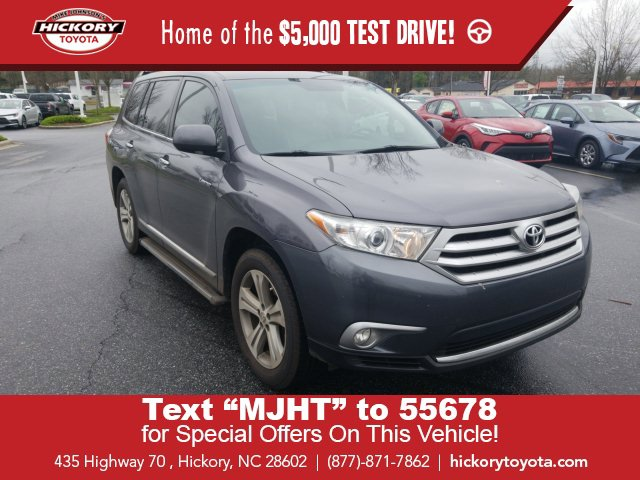 Used 2012 Toyota Highlander in Hickory, NC