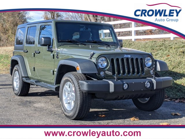 2015 Jeep Wrangler Unlimited Unlimited Sport WHEELS 17 X 75 ALUMINUM CONNECTIVITY GROUP  -inc