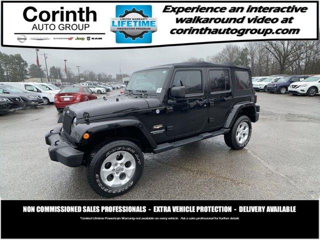 Used 2014 Jeep Wrangler Unlimited in Gadsden, AL