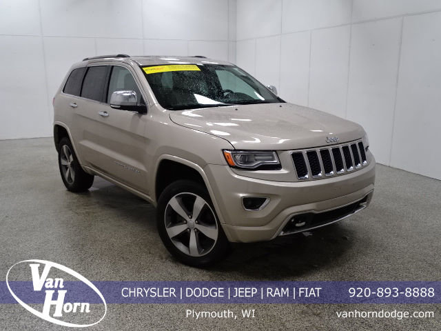 2015 Jeep Grand Cherokee Overland-4x4-Sunroof-Nav-Ht/Cooled Seating