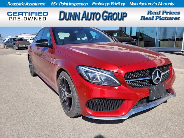 2016 Mercedes-Benz C-Class | C 450 AMG | SUNROOF | LEATHER | 4dr Sdn C 450 AMG 4MATIC Twin Turbo Premium Unleaded V-6 3.0 L/183 [17]