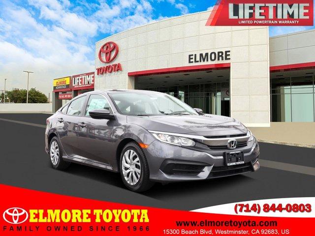 2018 Honda Civic Sedan LX LX CVT Regular Unleaded I-4 2.0 L/122 [5]