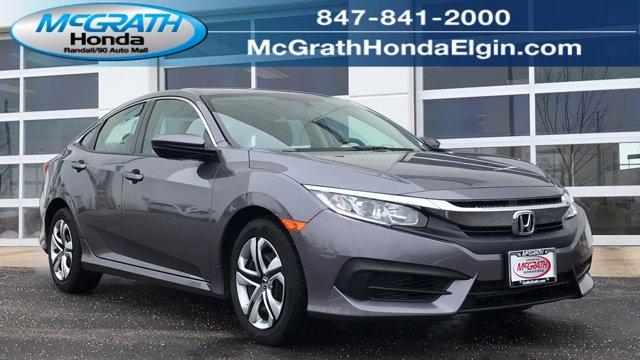 Used 2017 Honda Civic Sedan in Elgin, IL