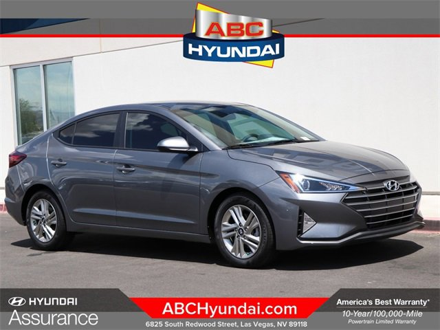 2020 Hyundai Elantra SEL SEL IVT SULEV Regular Unleaded I-4 2.0 L/122 [29]