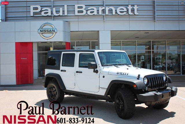 Used 2016 Jeep Wrangler Unlimited in Brookhaven, MS