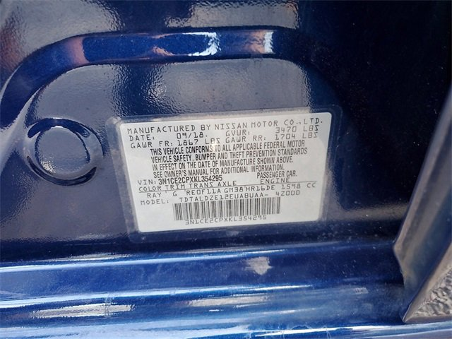 Used 2019 Nissan Versa Note in Lakeland, FL