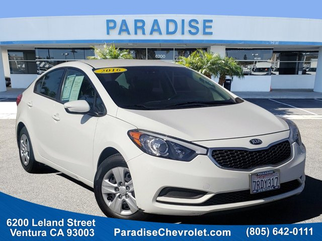 2016 Kia Forte LX 4dr Sdn Auto LX Regular Unleaded I-4 1.8 L/110 [2]