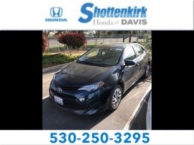 Used 2017 Toyota Corolla in Davis, CA