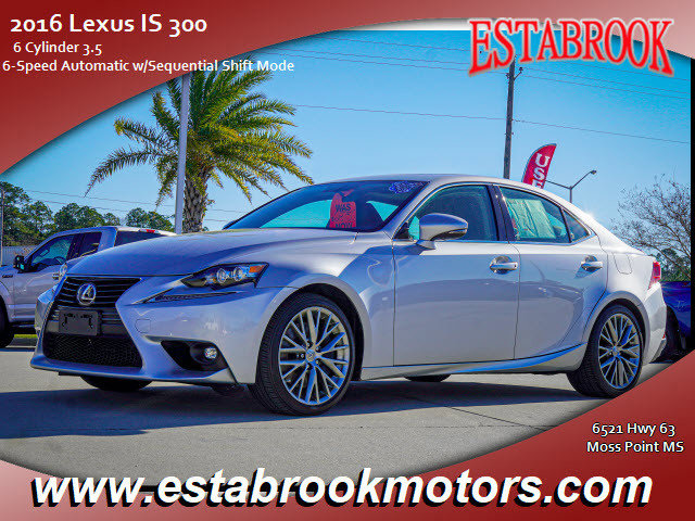 Used 2016 Lexus IS 300 in Moss Point, MS