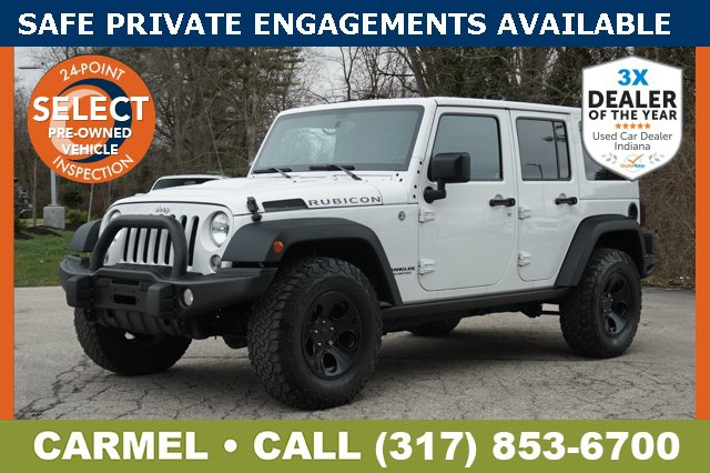 Used 2015 Jeep Wrangler Unlimited in Indianapolis, IN