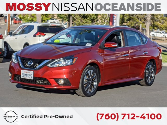 2017 Nissan Sentra SR Turbo SR Turbo CVT Intercooled Turbo Regular Unleaded I-4 1.6 L [13]