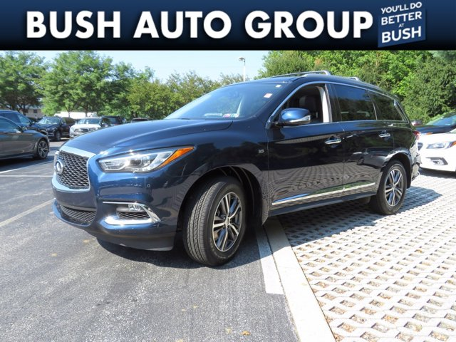 2017 INFINITI QX60 QX60 AWD Leather Nav Sunroof DVD AWD Premium Unleaded V-6 3.5 L/213 [0]