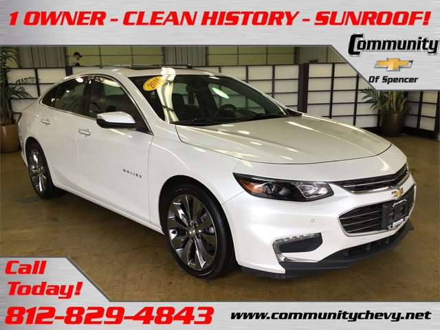 Used 2016 Chevrolet Malibu in Bloomington, IN