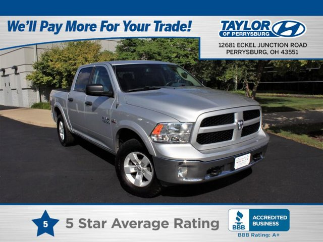 2016 Ram 1500 Outdoorsman QUICK ORDER PACKAGE 26T OUTDOORSMAN  -inc Engine 57L V8 HEMI MDS VVT