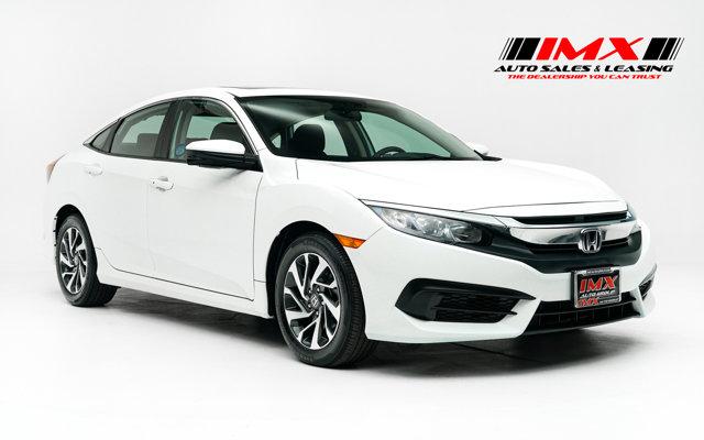 2018 Honda Civic Sedan EX EX CVT Regular Unleaded I-4 2.0 L/122 [4]
