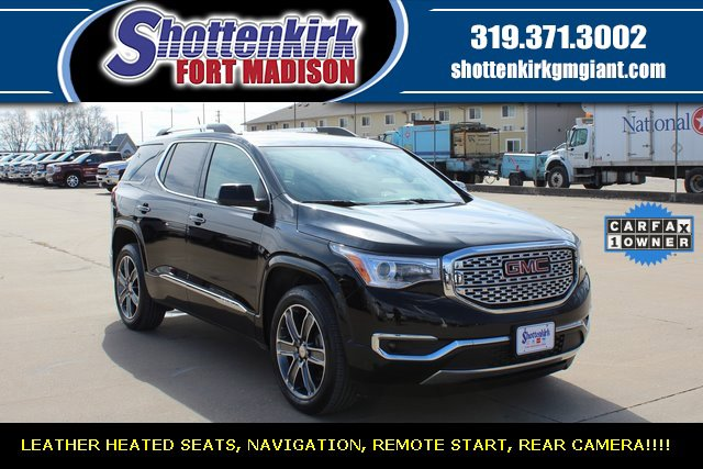 Used 2019 GMC Acadia in Fort Madison, IA