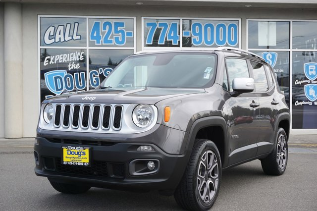 Used 2017 Jeep Renegade in Lynnwood Seattle Kirkland Everett, WA