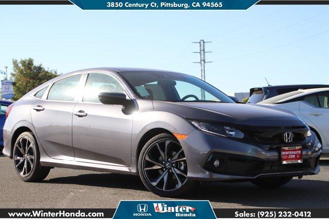 2020 Honda Civic Sedan Sport Sport CVT Regular Unleaded I-4 2.0 L/122 [1]