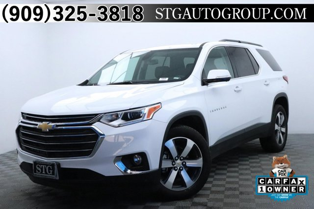 Used 2020 Chevrolet Traverse in Ontario, Montclair & Garden Grove, CA