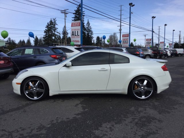 Used 2004 Infiniti G35 Coupe 2dr Cpe Manual w-Leather