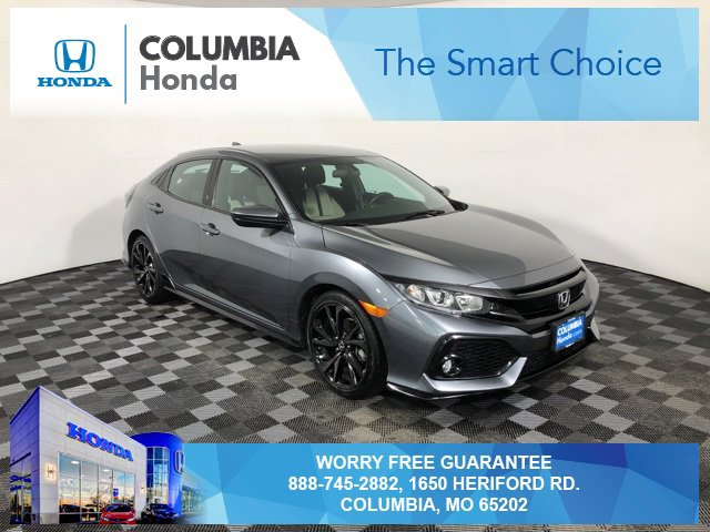 Used 2017 Honda Civic Hatchback in Columbia, MO