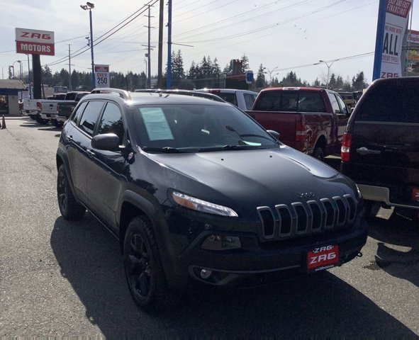 Used 2016 Jeep Cherokee 4WD 4dr Trailhawk