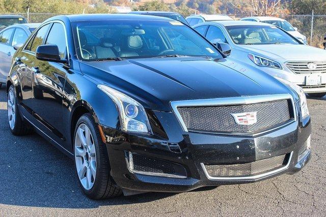 2014 Cadillac ATS Standard RWD 4dr Sdn 2.0L Standard RWD Turbocharged Gas I4 2.0L/122 [14]