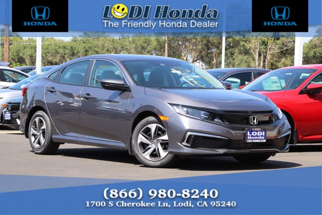 New 2020 Honda Civic Sedan in Lodi, CA